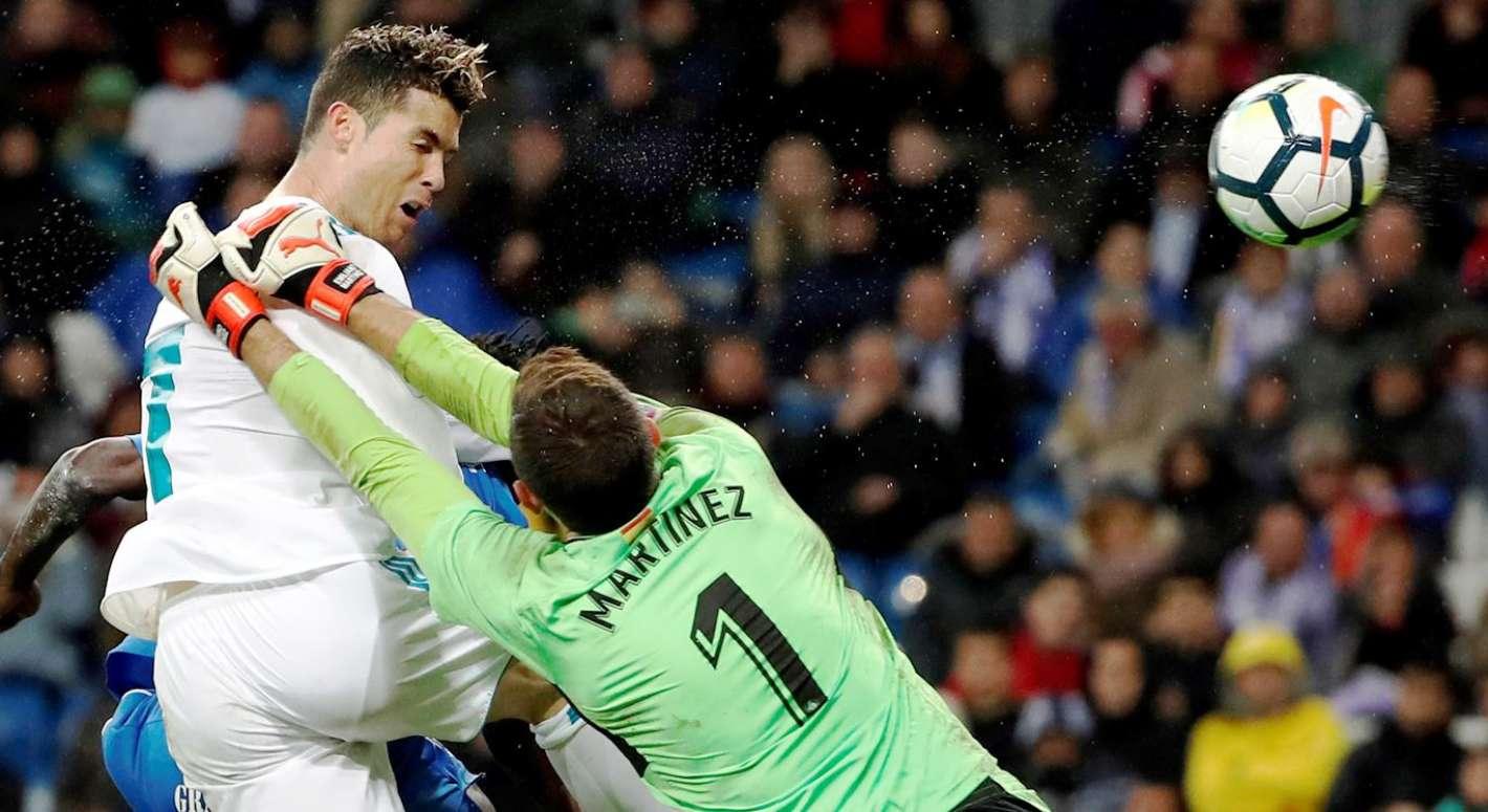 Real Madrid 4 1 Getafe Merengues Vencieron Con Goles De: Real Madrid Ganó Con Doblete De Ronaldo Y Quedó A 12