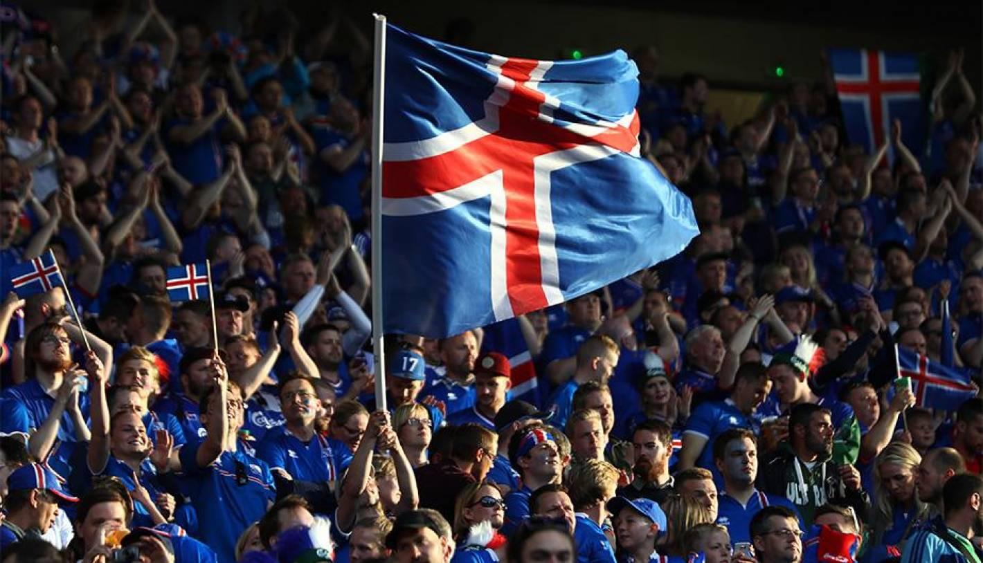 Resultado de imagen para islandia hinchas
