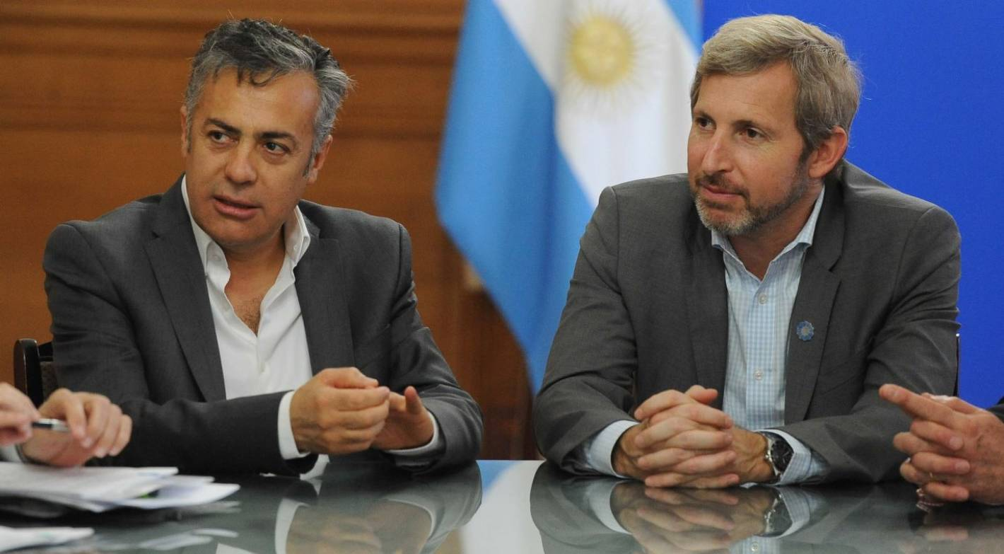 Frigerio la incertidumbre por el fondo del conurbano for Declaraciones del ministro del interior